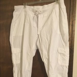New Calvin Klein White Pants No Tags Attached 2X